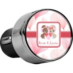 Hearts & Bunnies USB Car Charger (Personalized)