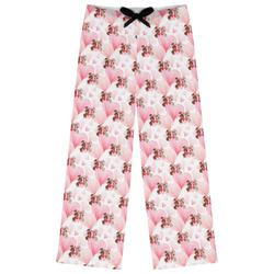 Hearts & Bunnies Womens Pajama Pants (Personalized)