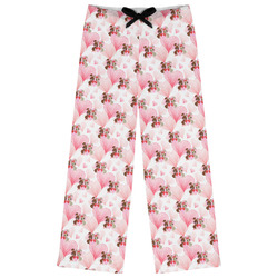 Hearts & Bunnies Womens Pajama Pants - XL (Personalized)