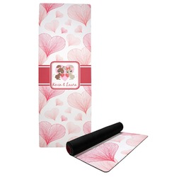 Hearts & Bunnies Yoga Mat (Personalized)