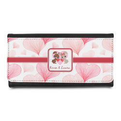 Hearts & Bunnies Ladies Wallet (Personalized)