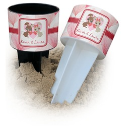 Hearts & Bunnies Beach Spiker Drink Holder (Personalized)