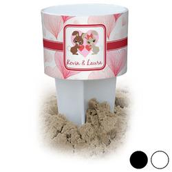 Hearts & Bunnies Beach Spiker Drink Holder (Personalized)