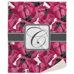 Tulips Sherpa Throw Blanket (Personalized)