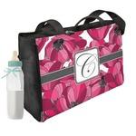 Tulips Diaper Bag w/ Initial
