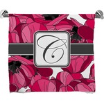 Tulips Full Print Bath Towel (Personalized)