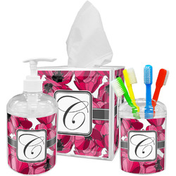 Tulips Bathroom Accessories Set (Personalized)