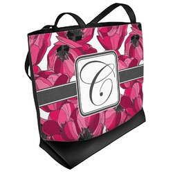 Tulips Beach Tote Bag (Personalized)