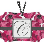 Tulips Rear View Mirror Ornament (Personalized)