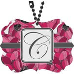 Tulips Rear View Mirror Charm (Personalized)