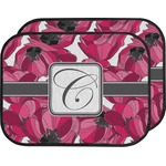 Tulips Car Floor Mats (Back Seat) (Personalized)