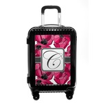 Tulips Carry On Hard Shell Suitcase (Personalized)
