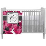 Tulips Crib Comforter / Quilt (Personalized)