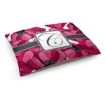 Tulips Dog Bed (Personalized)