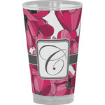 Tulips Drinking / Pint Glass (Personalized)