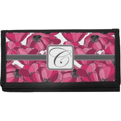 Tulips Canvas Checkbook Cover (Personalized)
