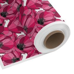 Tulips Custom Fabric - Spun Polyester Poplin (Personalized)
