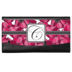 Tulips Genuine Leather Ladies Wallet (Personalized)