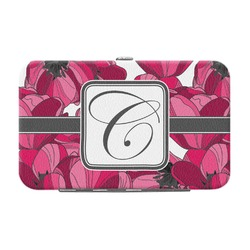 Tulips Genuine Leather Small Framed Wallet (Personalized)