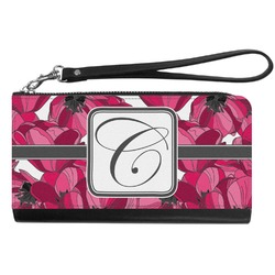 Tulips Genuine Leather Smartphone Wrist Wallet (Personalized)