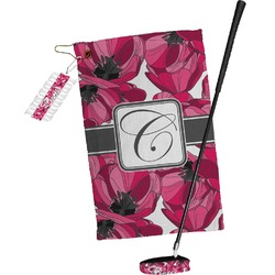 Tulips Golf Towel Gift Set (Personalized)