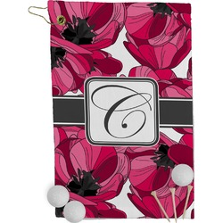 Tulips Golf Towel - Full Print (Personalized)