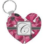 Tulips Heart Keychain (Personalized)