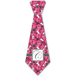 Tulips Iron On Tie - 4 Sizes w/ Initial