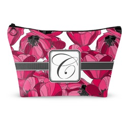 """Tulips Makeup Bag - Large - 12.5""""x7"""" (Personalized)"""