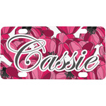Tulips Mini / Bicycle License Plate (Personalized)