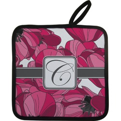 Tulips Pot Holder (Personalized)