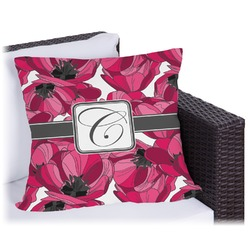 Tulips Outdoor Pillow (Personalized)