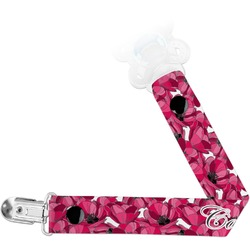 Tulips Pacifier Clips (Personalized)