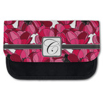 Tulips Canvas Pencil Case w/ Initial