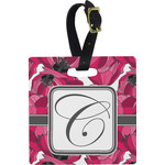 Tulips Square Luggage Tag (Personalized)