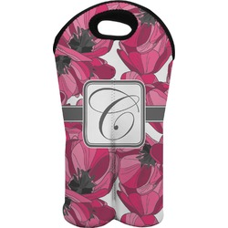 Tulips Wine Tote Bag (2 Bottles) (Personalized)