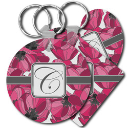 Tulips Plastic Keychains (Personalized)