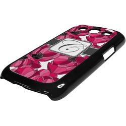 Tulips Plastic Samsung Galaxy 3 Phone Case (Personalized)