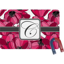 Tulips Rectangular Fridge Magnet (Personalized)