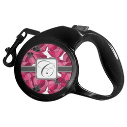 Tulips Retractable Dog Leash - Multiple Sizes (Personalized)