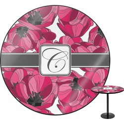 Tulips Round Table (Personalized)