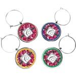 Tulips Wine Charms (Set of 4) (Personalized)