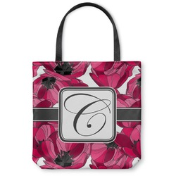Tulips Canvas Tote Bag (Personalized)
