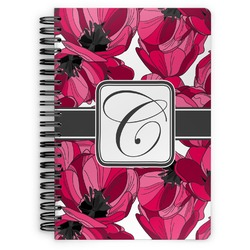 Tulips Spiral Bound Notebook (Personalized)