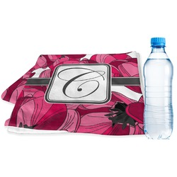 Tulips Sports & Fitness Towel (Personalized)
