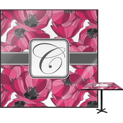 Tulips Square Table Top (Personalized)