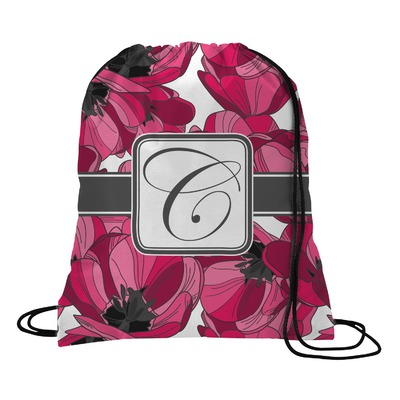 Tulips Drawstring Backpack (Personalized)