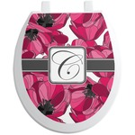 Tulips Toilet Seat Decal (Personalized)