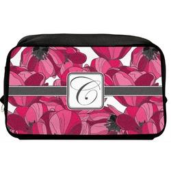 Tulips Toiletry Bag / Dopp Kit (Personalized)