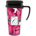 Tulips Travel Mug with Handle (Personalized)